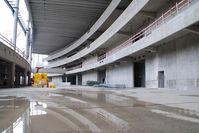 Vienna International Airport, Vienna Austria (VIE) - New Terminal Skylink under construction - by Yakfreak - VAP