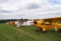 Antique Airfield Airport (IA27) - More of the Flight Line and Campers at Antique Field Fly In - by Floyd Taber