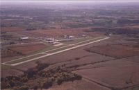 Knoxville Municipal Airport (OXV) - Aerial Shot looking Southeast of Knoxville Municipal Airport - by Floyd Taber