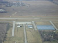 Hendricks County-gordon Graham Fld Airport (2R2) - Aerial shot of FBO - by Robert Fitzpatrick