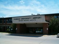 Purdue University Airport (LAF) - Terminal Building - by Robert Fitzpatrick