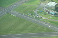 Nottingham Airport - Nottingham Tollerton airfield - by Pete Hughes