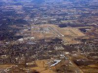 Capital Region International Airport (LAN) - KLAN looking west - by John Woody