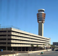 Phoenix Sky Harbor International Airport (PHX) - As we taxi around the other side... - by Stephen Amiaga