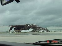 St Lucie County International Airport (FPR) - Hanger @ KFPR after Tornado visit - by Peter Broom