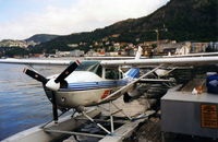 QFV Airport - Cessna - Bergen Harbour - by David Burrell