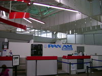 Tweed-new Haven Airport (HVN) - the new check-in for the new Pan Am flights - by Cohen