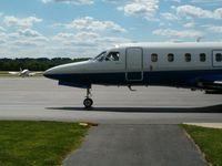 Monroe County Airport (BMG) - A private jet on the tarmac - by IndyPilot63