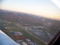 Roanoke Rgnl/woodrum Field Airport (ROA) - Overflying Roanoke - by Peter Steinmaker