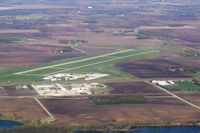 Owatonna Degner Regional Airport (OWA) - East of airport looking west. - by Ed Wells