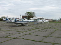 Tangier Island Airport (TGI) - Getting ready to go. - by Sam Andrews
