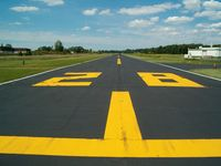 Post-air Airport (7L8) - Runway 28...partially gravel back in the 1980's, now paved. - by IndyPilot63