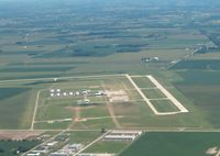 Indianapolis Regional Airport (MQJ) - Looking east towards the airfield and runway 7. - by IndyPilot63