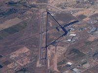 Cedar City Regional Airport (CDC) - Taken en-route PDX-PHX - by John Meneely