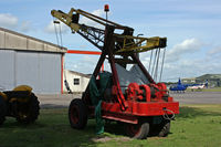 Bournemouth Airport, Bournemouth, England United Kingdom (EGHH) - Aviation museum lifting gear - by Les Rickman