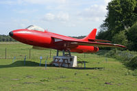 Bournemouth Airport, Bournemouth, England United Kingdom (EGHH) - Gate guardian now in Museum picnic area - by Les Rickman