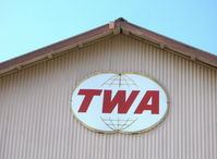 Santa Paula Airport (SZP) - Former TWA Captain's Hangar #1 - by Doug Robertson
