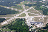 Ormond Beach Municipal Airport (OMN) - Overview of Ormond Beach Airport with its VORTAC - by A. Prokop