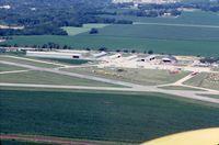 Dixon Muni-charles R. Walgreen Field Airport (C73) - Shot taken from a PT-19A - by Glenn E. Chatfield