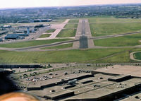 Edmonton City Centre (Blatchford Field) Airport (Edmonton City Centre Airport), Edmonton, Alberta Canada (CYXD) - Scanned from slide. Taken about 1978'ish - by Guy Pambrun