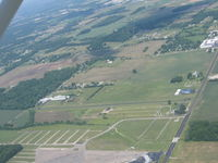 Buckeye Airport (9OA5) - From about 2500' near Buckeye Lake, OH - by Bob Simmermon