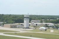 Elkhart Municipal Airport (EKM) - Control Tower - by Mark Pasqualino