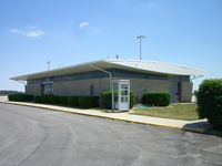 Kokomo Municipal Airport (OKK) - the unique FBO building, one of my favorites for a small airport. - by IndyPilot63