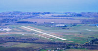 Chautauqua County/dunkirk Airport (DKK) - Lake Erie in the background - by Jim Uber