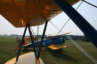 Poplar Grove Airport (C77) - Stearman group preparing for takeoff - by Mark Pasqualino