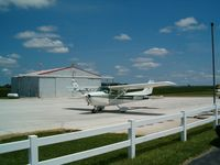 New Castle-henry Co Municipal Airport (UWL) - Tarmac, and N8941V, which I've flown in twice. - by IndyPilot63