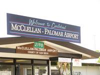 Mc Clellan-palomar Airport (CRQ) - Mc Clellan-Palomar Airport Terminal - by COOL LAST SAMURAI