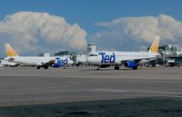 Denver International Airport (DEN) - N487UA foreground, N480UA background - by Francisco Undiks