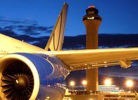 Denver International Airport (DEN) - N769UA overnighting on B39. - by Francisco Undiks
