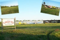 Flanagan Field Airport (N08) - Pvt. airport.  The dogs that greeted me were friendly. - by Tigerland