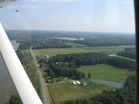 Barber Airport (2D1) - Downwind for 27 at Alliance, OH - by Bob Simmermon
