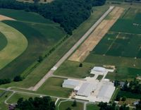 Stoltzfus Airfield Airport (OH22) - Home of Preferred Air Parts near Wooster, OH - by Bob Simmermon