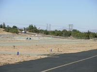 Hesperia Airport (L26) - L26 Rwy24 and a wind sock - by COOL LAST SAMURAI