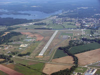Natchitoches Regional Airport (IER) - Natchitoches looking north - by Carl Hennigan