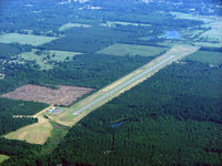 The Red River Airport (0R7) - Coushatta looking N.W. - by Carl Hennigan