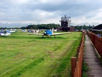 City Airport Manchester, Manchester, England United Kingdom (EGCB) - Barton Airfield , Near Manchester UK - by Terry Fletcher