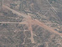 Moreton Airpark Airport (23AZ) - Moreton Airpark, near Wickenburg, AZ. The C-119 is N15501 from Flight of the Phoenix - by John Meneely