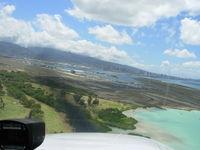 Honolulu International Airport (HNL) - Cessna172SP HNL Rwy4L short final approach - by COOL LAST SAMURAI