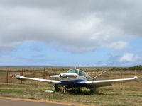 Lanai Airport (LNY) - A V-TAIL BEECH SITTING ON LNY TRANSIENT PARKING FOR A LONG LONG TIME - by COOL LAST SAMURAI