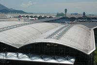 Hong Kong International Airport, Hong Kong Hong Kong (VHHH) - View from Skydeck - by Leobong