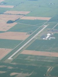 Putnam County Airport (OWX) - View from 4500' - by Bob Simmermon