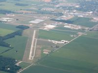 Williams County Airport (0G6) - View from 4500' - by Bob Simmermon