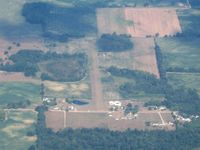 Hamp Airport (68R) - From 5500' - by Bob Simmermon