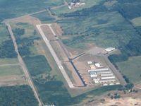 Mason Jewett Field Airport (TEW) - View from 5500' - by Bob Simmermon