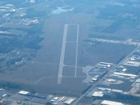 Wexford County Airport (CAD) - View from 5500' down RWY 25 - by Bob Simmermon