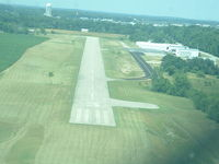 Clinton Field Airport (I66) - Final RWY 3 - by Duncan Latta